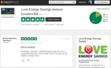 Read the Love Energy Savings customer reviews on Trustpilot