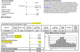 TXU electricity rates